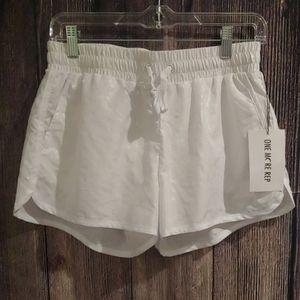 Zyia White Shorts